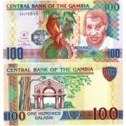Гамбия бона 100 даласи 2013