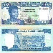 Свазиленд бона 10 эмалангени 2006