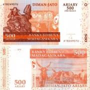 Мадагаскар бона 500 ариари 2004
