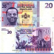 Свазиленд бона 20 эмалангени 2010