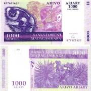 Мадагаскар бона 1000 ариари 2004