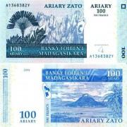 Мадагаскар бона 100 ариари 2004