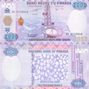 Руанда бона 2000 франков 2014