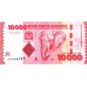 Танзания бона 10 000 шиллингов 2010