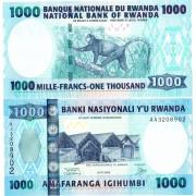Руанда бона 1000 франков 2004