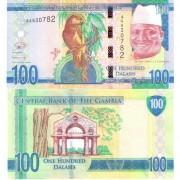 Гамбия бона 100 даласи 2015