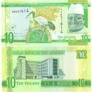 Гамбия бона 10 даласи 2015 Ибис