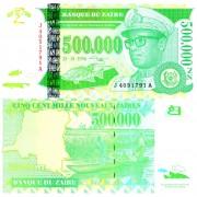 Заир бона 500 000 заир 1996