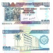 Бурунди бона 500 франков 2009