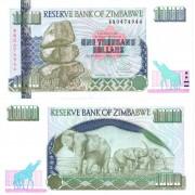 Зимбабве бона 1000 долларов 2003