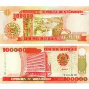 Мозамбик бона 100 000 метикал 1993