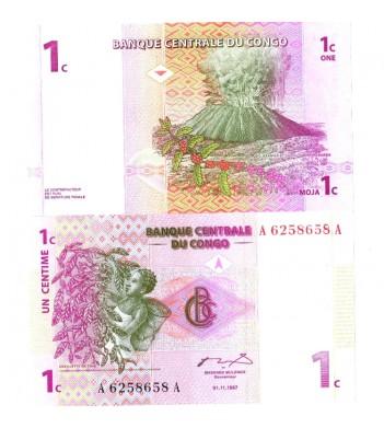 Конго бона 1 сантим 1997