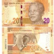 ЮАР бона 20 ранд 2012