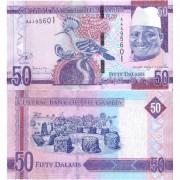Гамбия бона 50 даласи 2015 Удод