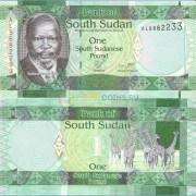 Южный Судан Бона 1 фунт 2011