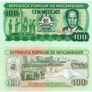 Мозамбик бона 100 метикал 1983