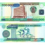 Мозамбик бона 200 000 метикал 2003