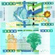 Сьерра-Леоне бона 10 000 леоне 2010