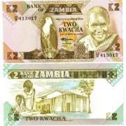 Замбия бона (024) 2 квача 1986-1988