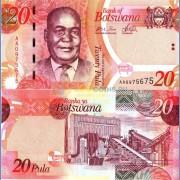 Ботсвана бона 20 пула 2009