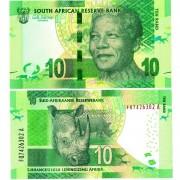 ЮАР бона 10 ранд 2012