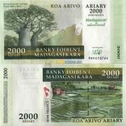 Мадагаскар бона 2000 ариари 2007 юбилейная