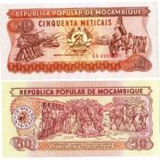 Мозамбик бона 50 метикал 1983