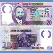 Мозамбик бона 20 метикал 2011