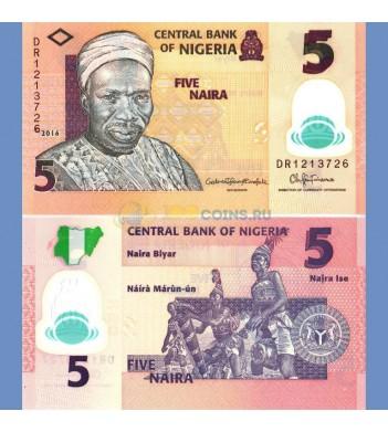 Нигерия бона 5 найра 2016