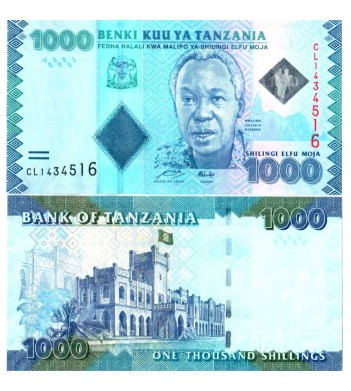 Танзания бона 1000 шиллингов 2010