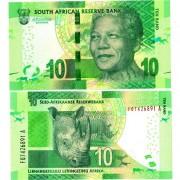 ЮАР бона 10 ранд 2015