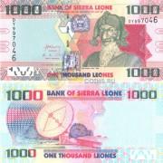 Сьерра-Леоне бона 1000 леоне 2013