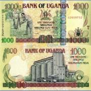 Уганда бона 1000 шиллингов 2009