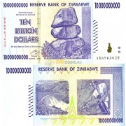 Зимбабве бона 10 000 000 000 долларов 2008