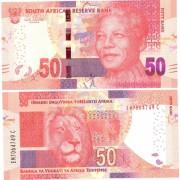 ЮАР бона 50 ранд 2012