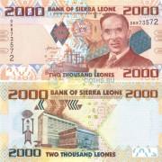 Сьерра-Леоне бона 2000 леоне 2010
