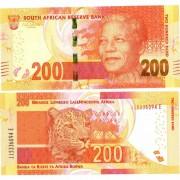 ЮАР бона 200 ранд 2012