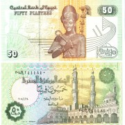 Египет бона 50 пиастров 2008
