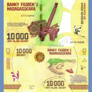 Мадагаскар бона 10000 ариари 2017