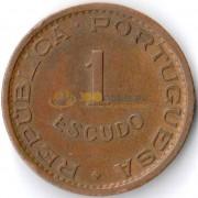 Ангола 1963 1 эскудо
