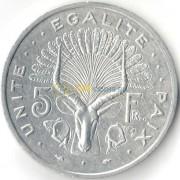 Джибути 1991 5 франков Антилопа