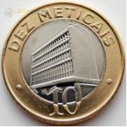 Мозамбик 2006 10 метикал Здание банка