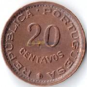 Мозамбик 1974 20 сентаво