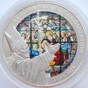 Того 2014 100 франков Канонизация Иоанна Павла II