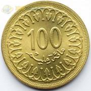 Тунис 1983 100 миллимов