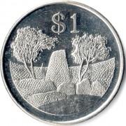 Зимбабве 2001-2003 1 доллар