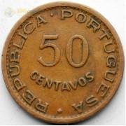 Кабо-Верде 1968 50 сентаво