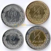 Ливия 2014 набор 4 монеты