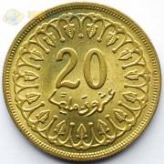 Тунис 1983 20 миллимов