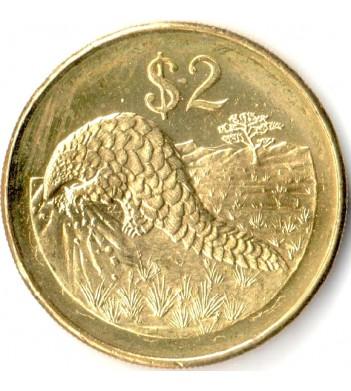 Зимбабве 2001-2003 2 доллара